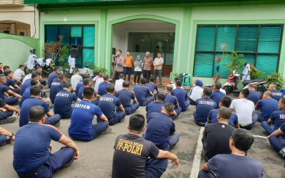 Pembinaan Rutin Security PT Binajasa Abadikarya