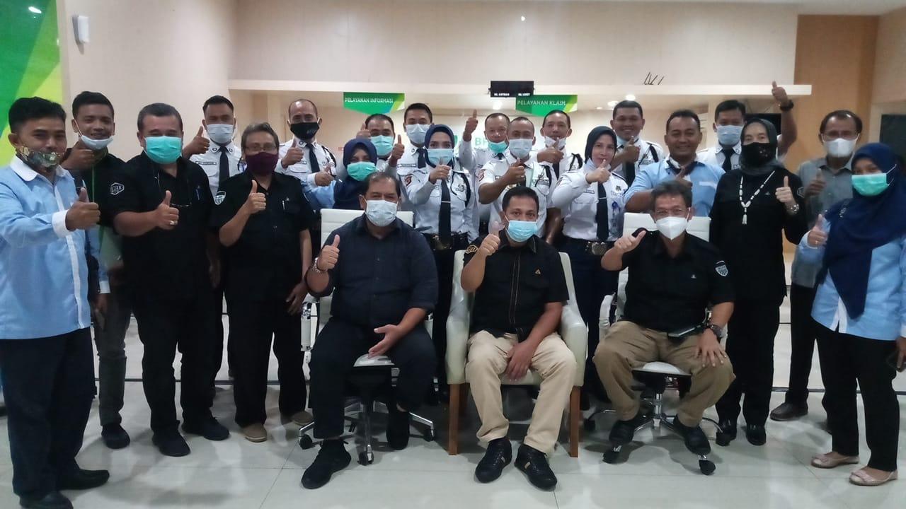 Pemberian Reward bagi TKAD Satpam BPJS TK Cabang Bandung Suci & Kunjungan ke Depdir Wilayah Jawa Barat